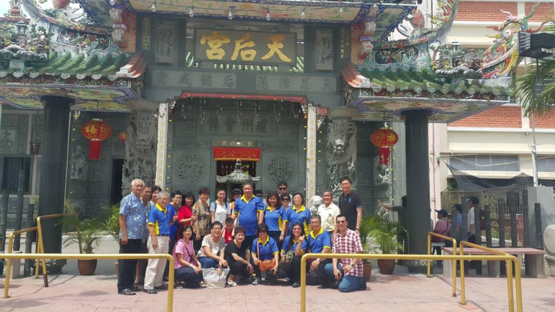 霹雳琼声社组团參訪天后宫 29/07/18